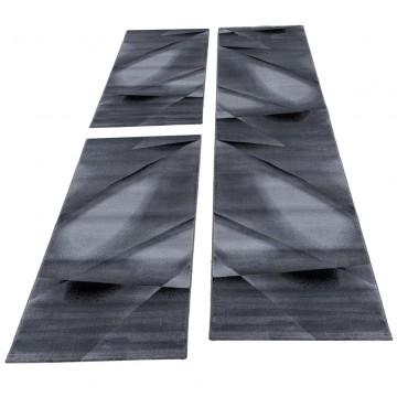 Kurzflor Läuferset Teppich...