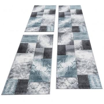 Kurzflor Läufer Teppich...
